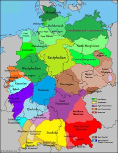 Map of German dialects [720x932] - Imgur