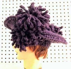 Crochet Pattern Hat Womens Crochet Hat Pattern Womens Hat Crochet Flower Kentucky DERBY Hat Wide Brim Hat Floppy Hat Unique Gift by strawberrycouture by #strawberrycouture on #Etsy