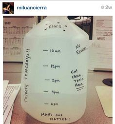 For your desk... #NoExcuses #EatCleanTrainMean #Hydrate