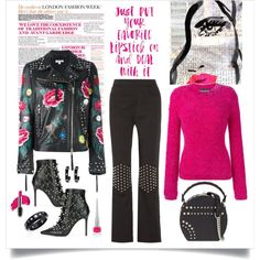 A fashion look from February 2017 by romaboots-1 featuring Boutique Moschino, P.A.R.O.S.H., J.W. Anderson, Cesare Paciotti, Bertoni, Alexis Bittar, Christian Lo...