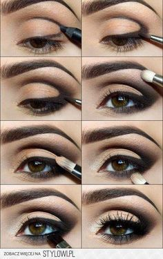 Great smokey eye makeup tutorial. And simple! Get the look with Sephora products @ 10% cash back http://studentrate.com/studentrate/itp/get-itp-student-deals/Sephora-Student-Discounts--/0
