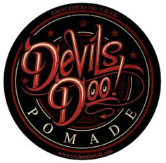 Inked Boutique - Devils Doo Heavy Pomade from Joe Capobianco from Best Ink! Rockabilly Psychobilly Greaser Pompadour www.inkedboutique.com