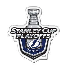 Tampa Bay Lightning 2015 Playoff Logo Acrylic Magnet