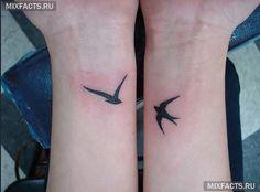 #тату #птицы