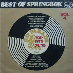Springbok: Springbok Hit Parade Best Of / Top Hits Album Covers, Vinyl Records, Day, Nostalgia