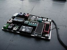 Guitar Pedal Board - if there's anything better than one guitar pedals its lots of them!