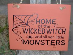 Home Of The Wicked Witch And All Her Little by heartfeltgiver