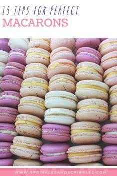 Macaron Filling, Macaron Flavors, Macaron Recipe, Macarons Easy, How To Make Macaroons, Making Macarons, French Macaroon Recipes, French Macaroons, Vanilla Macaroons
