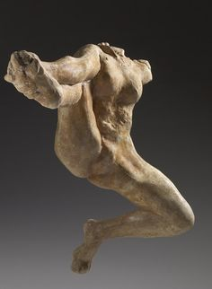 rodin sculpture Made of plaster, this headless sculpture of Iris, messenger of the gods, extends its legs in midflight. Auguste Rodin, Musée Rodin, Ceramic Sculpture Figurative, Figurative Art, Rodin Drawing, Anatomy Sculpture, Life Drawing, Figure Painting, Figure Drawing