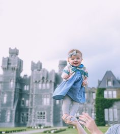 Barefoot Blonde at Ashford Castle in Cong, Ireland