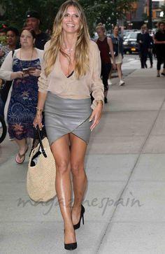 Heidi Klum, feliz y… ¿soltera?