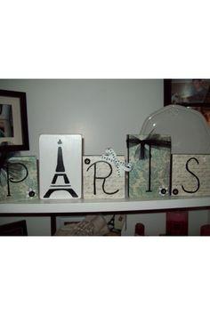 Paris home decor