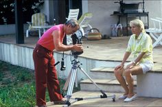Charles Aznavour in Saint-Tropez. 1985