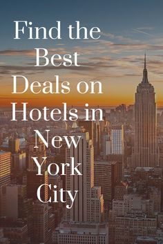 Get the best deals on New York City hotels at BookingBuddy!