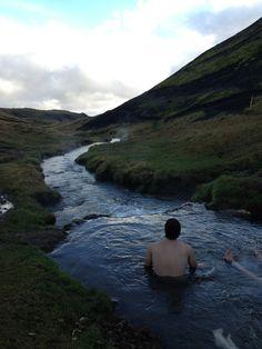 geothermal hot springs, Hveragerdi, Iceland//