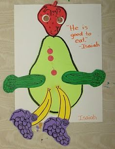 1000 images about theme nutrition on pinterest food for Food crafts for preschoolers