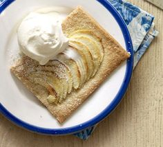 Melt-in-the mouth pastry and sweet tender apples are a match made in heaven