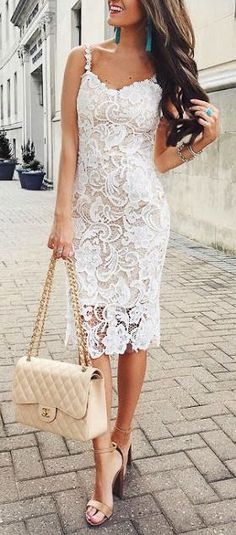 #summer #outfits / lace