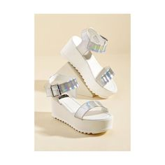 7d3fc14570d436 Flatform Fanatic Sandal ( 40) ❤ liked on Polyvore featuring shoes