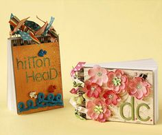 These mini travel journals from scrapbooks etc are a cute way to remember your honeymoon!