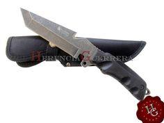 Cuchillo Trento Comando Tanto Stonewash Survival
