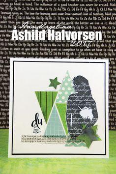 ♥ kreativt uttrykk ♥: Inspirert av en layout Layout, Cards, Page Layout, Maps, Playing Cards