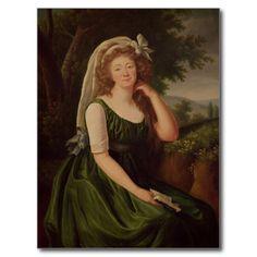 Portrait de la comtesse du Barry 1789  Vigee Lebrun