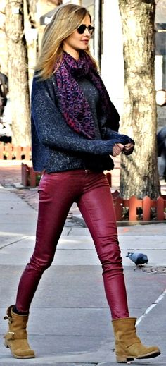 Streetstyle.. I love the entire look!
