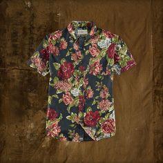 Ralph Lauren Floral Short-Sleeved Shirt
