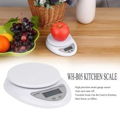 Free Shipping. Buy 5kg 5000g/1g Digital Kitchen Food Diet Postal Scale Electronic Weight Balance,white at Walmart.com