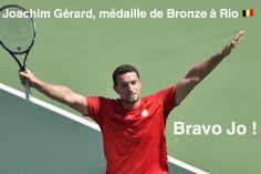 Joachim Gérard, médaillé à Rio. Il s'est battu jusqu'au bout et bat le numéro 1 mondial ce qui lui permet de monter sur le podium de ces Jeux Paralympiques ! Bravo Jo !!! 🇧🇪