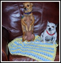Posh Pooch Designs Dog Clothes: Sweet Baby Blanket Crochet Pattern | Posh Pooch Designs