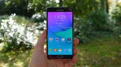 Samsung Galaxy Note 4 now licking Lollipop in Europe | After a small delay, Android 5.0 Lollipop is coming to the Galaxy Note 4, but it's only for the one version so far. Buying advice from the leading technology site