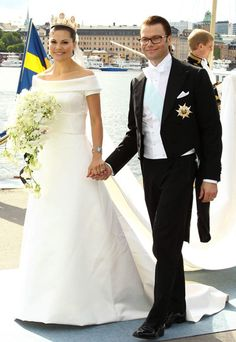 Look of the Day photo | Crown Princess Victoria of Sweden  Find the Best Toronto and the GTA have to offer with thePWG.ca http://www.theperfectweddingguide.com/wedding_gowns.html #Wedding #Gowns #Dresses
