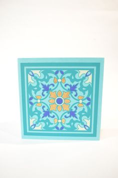 Ceramic Blank Greeting Card Set Moroccan Thank you by PenandFavor These  cards can be customized and 079770a65dd2