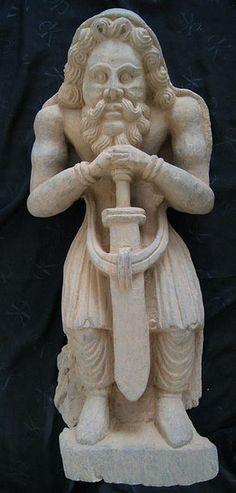 Bactrian Gandhara sculpture
