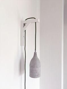 Beton Wandlampe ByCoco Licht LampeLeuchtenWohnzimmer
