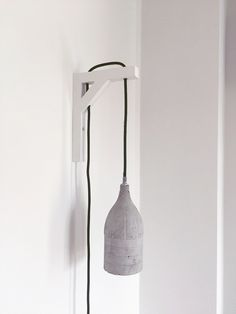 Beton-Wandlampe byCoco von byCoco auf DaWanda.com