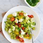DeLallo Italian Recipes   Gnocchi with Fresh Mozzarella, Grape Tomatoes & Pesto