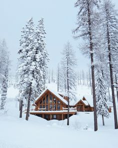 Cabin on Big Mountain by Alex Strohl - Photo 137728685 - 500px Whitefish, Montana