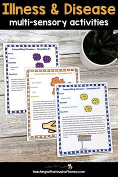 This pack contains materials to help your first, second, third grade & home school students learn ab Health Activities, Spring Activities, Sensory Activities, Learning Activities, Activities For Kids, Multi Sensory, Word Sorts, Learning Styles, Student Learning