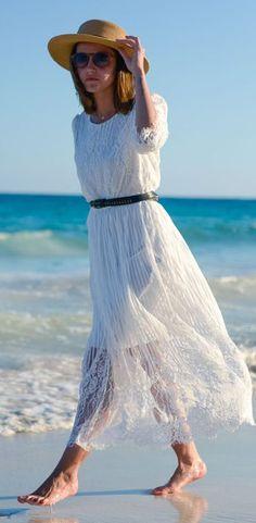 Full Lace Maxi Dress by Lovely Pepa