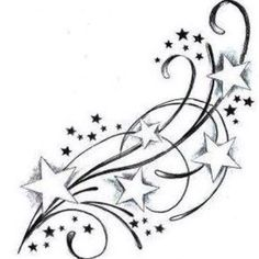 This is a tattoo that I plan on getting on my hip to represent my siblings