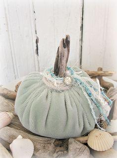 Fall, coastal style - beach pumpkin