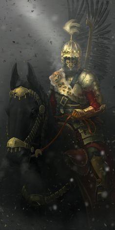 ArtStation - Lithuanian Hussar XVI, Jonas Špokas