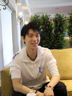 「トロントでは集中できる」と話す羽生  五輪で最高の演技を 羽生、3伯楽と充実の日々  http://www.nikkei.com/article/DGXZZO59195440S3A900C1000000/ Yuzuru HANYU 羽生結弦