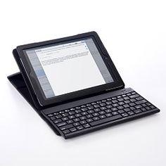 サンワダイレクト、着脱可能なBluetoothキーボードが付いたiPadケース | パソコン | マイナビニュース