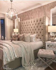 Home Decor Bedroom .Home Decor Bedroom Feminine Bedroom, Modern Bedroom, Master Bedrooms, Master Suite, Contemporary Bedroom, Bedroom Ideas For Couples Master, Beautiful Bedrooms For Couples, Contemporary Style, Master Master