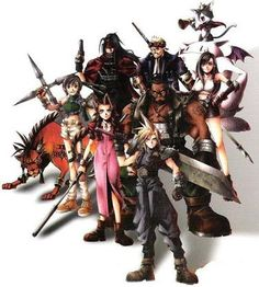 Characters in Final Fantasy VII... no one cares about Yuffie
