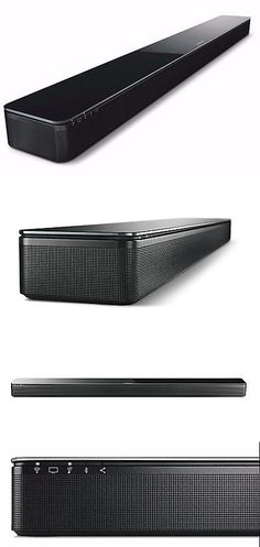 Home Speakers and Subwoofers: Bose Soundtouch 300 Soundbar -Black Music System Surround Speaker Sound Bar -> BUY IT NOW ONLY: $699 on eBay!